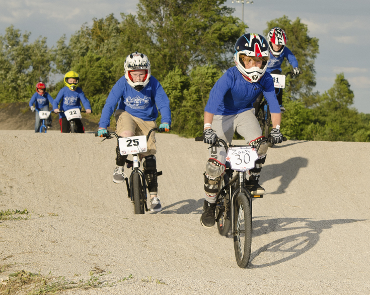 Elgin BMX League Riders